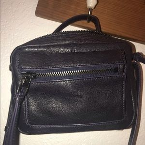 Kooba Crossbody Blue Leather Purse